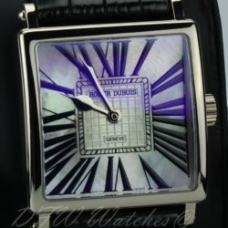 Roger Dubuis White Gold Golden Square Mother of Pearl